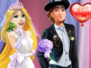 Rapunzel Wedding Party Dress Game