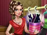 Sery Date Night Dolly Dress Up Game