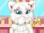 Talking Angela Shaving Game