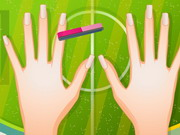 other, girl , makeover,makeup , fifa , fan , manicure