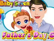 Baby Seven Fathers Day Gift Game