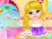 Fairytale Baby - Rapunzel Caring Game