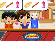 Delicious Burger Shop Game