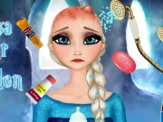 Elsa Hair Care Game