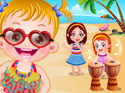 Baby Hazel Beach Party Game