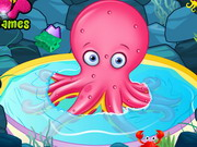Cute Octopus Care Game