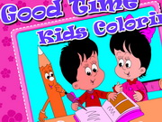 Good Time Kids Coloring Game