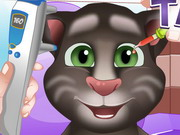 Baby Talking Tom Eye Doctor Game