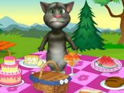 Talking Tom Picnic Game