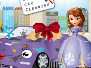 Sofias New Car Cleaning Game