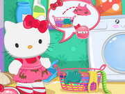 Hello Kitty Laundry Day Game
