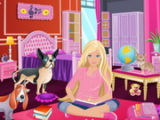 Barbies Comfy Bedroom Decor Game