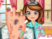 Sofia The First Foot Doctor Game