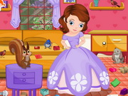 Sofia The First Room Cleaning Game