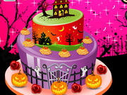 Halloween Special Cake Decor Game