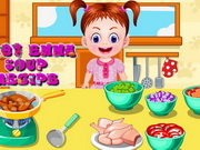 Baby Emma Soup Recipe Game
