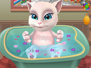 Talking Angela Bathing Game
