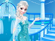 Frozen Party Dress Design Game