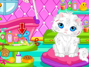 Cute Cat Bathing Game