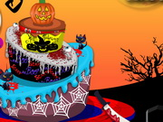 Halloween Birthday Cake Game