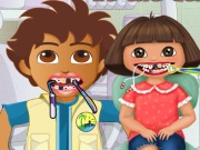 Dora And Diego At The Dentist Game