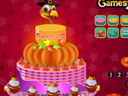 Thanksgiving Day Pumpkin Cake 2014 Game