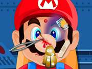 Mario Head Injury Game