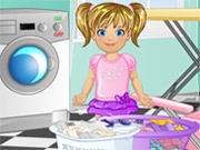 Baby Emma Laundry Time Game