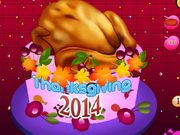 Tasty Thanksgiving Day Cake 2014 Game