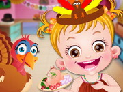 Baby Hazel Thanksgiving Fun Game