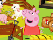 Peppa Pig Feed The Animals Game