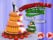 Christmas Wedding Cake Decor Game