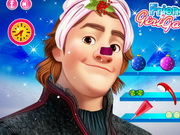 Frozen Kristoff Christmas Make Up Game