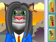 Talking Tom Haircuts Game