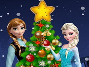 Frozen Christmas Tree Game