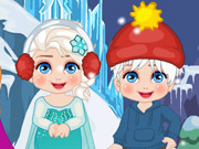 Elsa New Year Slacking Game