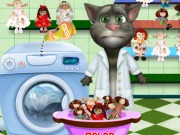 Tom Washing Dolls Game