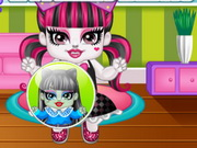 Monster High Draculaura N Frankie Babies Game