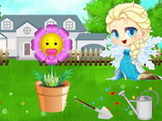 Baby ELsa Flower Care Game
