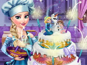 Elsa's Wedding Cake Game