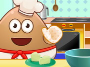 Pou Cooking Raffaello Game