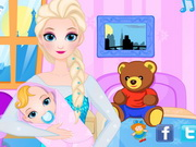 Queen Elsa Give Birth To A Baby Girl