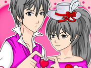 Valentine Manga Maker Game