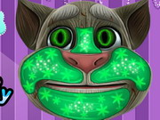 Talking Tom Cool Makeover Game