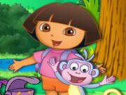 Dora Item Catch Game