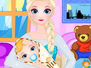 Queen Elsa Give Birth Game