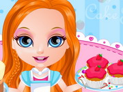 Baby Barbie Cake Shop Game