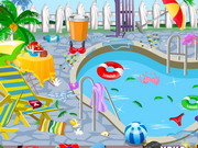 Clean My Pool Area Game