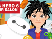 Big Hero 6 Hair Salon Game