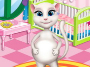 Pregnant Angela Baby Room Game